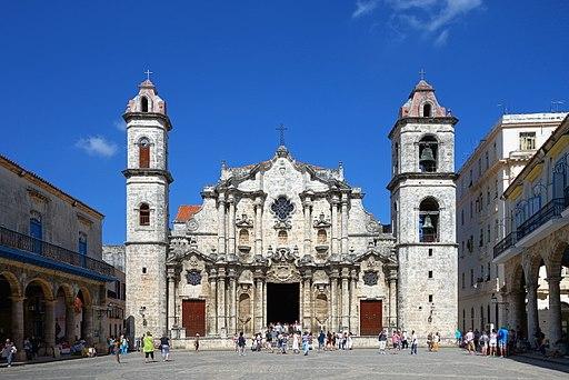 La Havane cathedrale face