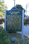 La Plaisance Bay Pike historical marker Tecumseh Michigan.JPG