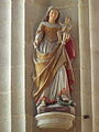 La Trinité-Langonnet (56) Église Statue 08.JPG