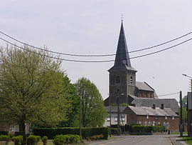 The church in La Longueville
