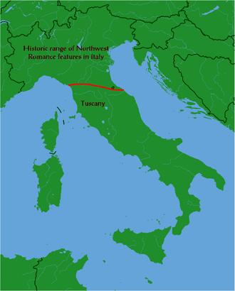 Regional Italian - Rimini-La Spezia line