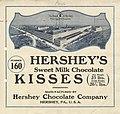 Label for Hershey's Sweet Milk Chocolate Kisses - NARA - 18558594.jpg
