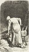 Labours of the fields-Woman crushing flax (Millet).jpg