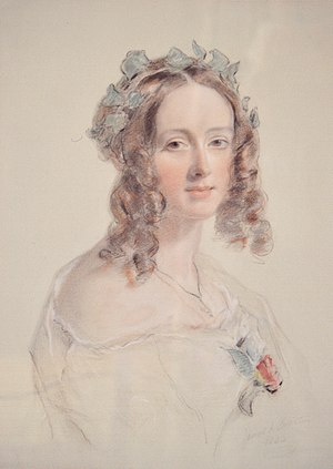 Grisell Baillie - Lady Grisell Baillie, painted in 1844 by James Swinton