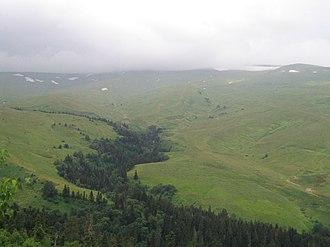 Adygea - Lago-Naki area in Adygea
