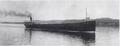 Lake freighter Elbert H. Gary, passing Mackinac Island on her maiden voyage, in 1905.png