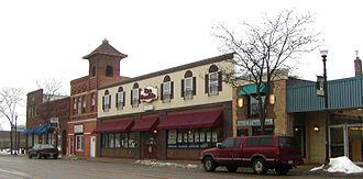 "Lakeville, Minnesota - Shops on Lakeville's ""Main Street"""