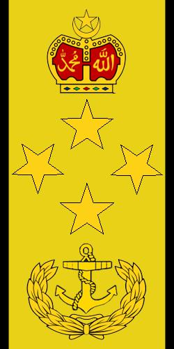 Laksamana insignia of Royal Malaysian Navy