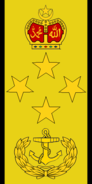 Laksamana insignia of Royal Malaysian Navy