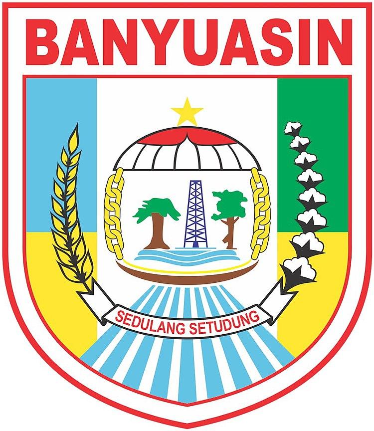 Berkas Lambang Kabupaten Banyuasin Jpg Wikipedia Bahasa Indonesia Ensiklopedia Bebas