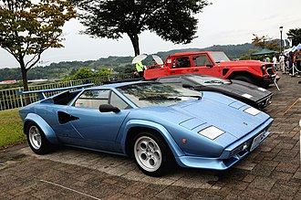 Grey import vehicle - 1978 Lamborghini Countach LP400S