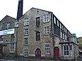 Lancashire Sock, Britannia Mill, New Line, Bacup - geograph.org.uk - 701774.jpg