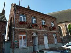 Landas (Nord, Fr) mairie.JPG