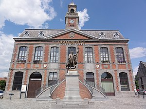 Landrecies - The town hall