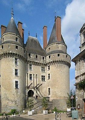 L'entrée du château (XVesiècle)