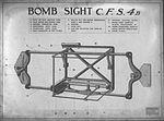 Lantern slide used for aerial bombardment training (16591916362).jpg