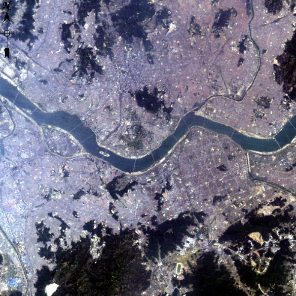 Large Seoul Landsat