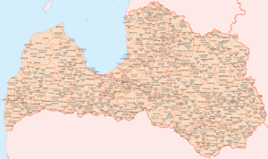 Administrative divisions of Latvia - Administrative divisions of Latvia (as of 3. January 2011)