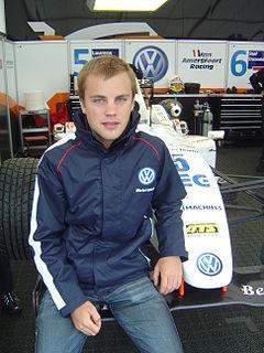 Laurens Vanthoor Belgian racing driver