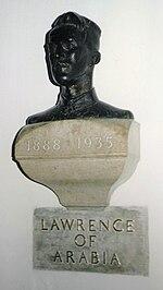 Lawrence Bust in St. Paul