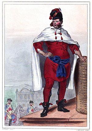 "Charles-Henri Sanson - The ""bourreau"" under Louis XVI"