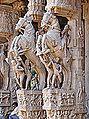 Le temple de Srirangam (Tiruchirapalli, Inde) (13887774932).jpg