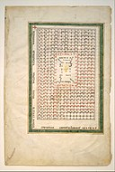 Leaf from a Beatus Manuscript- Table of the Antichrist MET DT304321.jpg