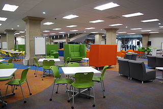 Learning commons type of educational facility