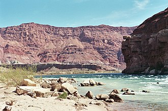 Lee's Ferry - View of the Colorado River from Lees Ferry