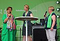 Leipzig 100 Deutscher Katholikentag Stephanie Heinrich Anne Hakenes Notburga Heveling 01.JPG