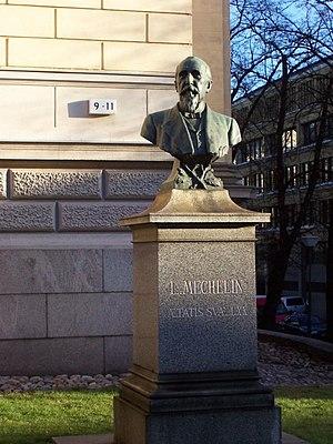 Leo Mechelin - Leo Mechelin's bust in Helsinki.