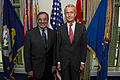 Leon E. Panetta and Pedro Morenes at the Pentagon July 23, 2012.jpg