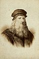 Leonardo da Vinci. Photograph by E. Desmaisons after a print Wellcome V0027541EL.jpg