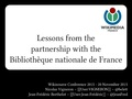 Lessons from the partnership with the Bibliothèque nationale de France - Wikisource Conference 2015.pdf