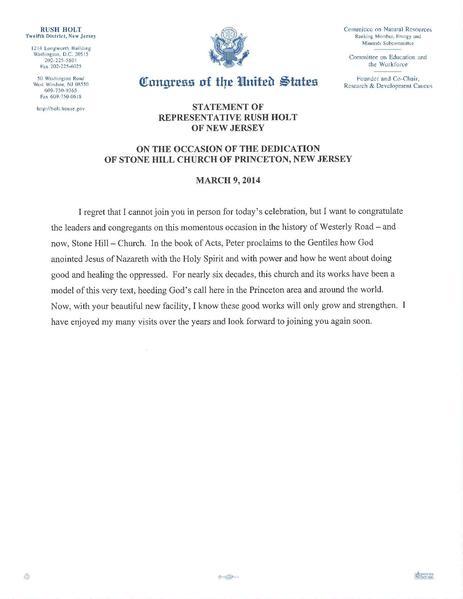 Letter To Congressman Format