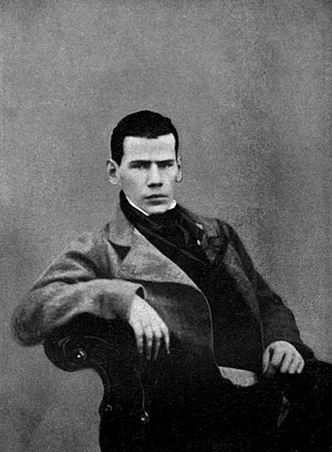 Youth (Leo Tolstoy novel) - Tolstoy as a young man, c. 1848