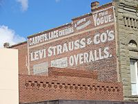 Levi Strauss sign.JPG