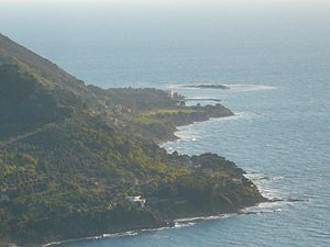 Licosa - View of the promontory and the island