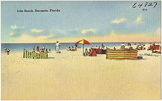 Lido Key - Lido Beach, c. 1930