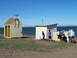 Kugluktuk - Image: Lifeguard Station at Kugluktuk