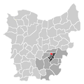 Ligging van Erondegem in Oost-Vlaanderen.png