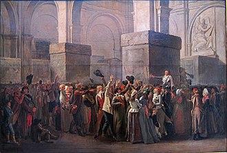 Louis-Léopold Boilly - Le triomphe de Marat 1794