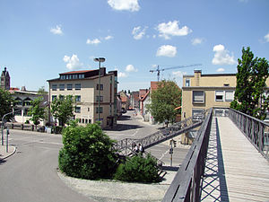 Memmingen station - The Iron Bridge