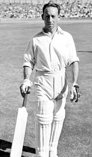 Australian cricket team in England in 1948 - Hassett scored 137 for Australia.