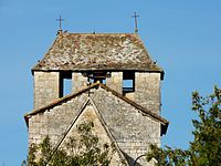 Liorac-sur-Louyre église clocher.JPG