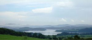 Lipno Dam - Image: Lipno 1