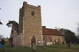 Little Bealings - Image: Little Bealings Church