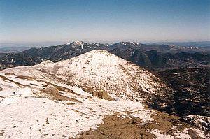Mount Haystack - Image: Little Haystack and Haystack Mt NY