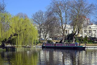 Little Venice District in London, England