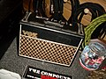 Little Vox amp, Recording Fischer, Compound Recordings, January 2008.jpg
